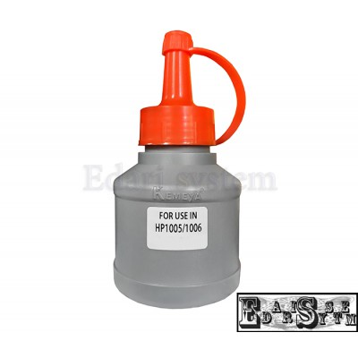 پودر تونر شارژ 100 گرمی مشکی اچ پی مدل1005/1006 کیمیا